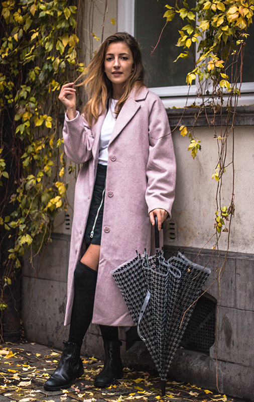 Perfect coat weekday zalando