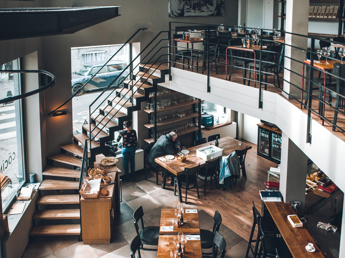 Restaurant Cocina : the interior