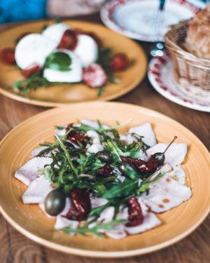 Le délicieux Vitello Tonnato de la Cocina au Châtelain